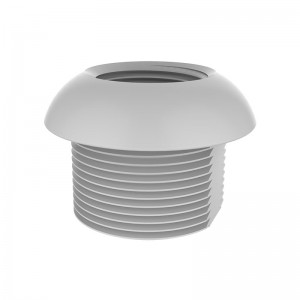 Pole to Base Adapter, White